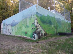 Vermont Woodlands mural
