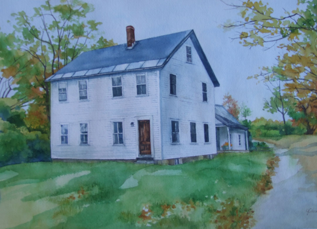 Portrait of Nowers Residence, Westminster, Vermont