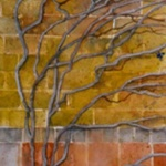 Vines _ watercolor 10inx6in - $350