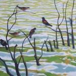 redwings _ acrylic 18inx24in - $1800