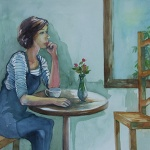 the_empty_chair _ watercolor 15inx22in - $900